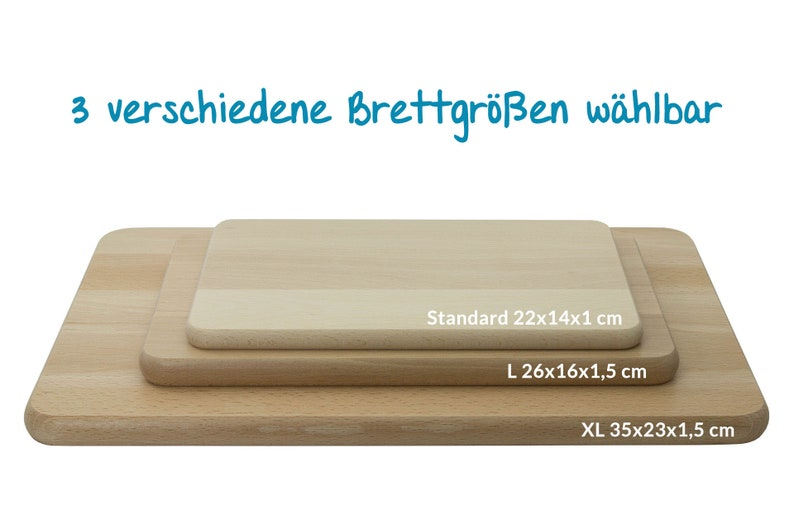 Bread newspaper board Austria skyline with personal engraving