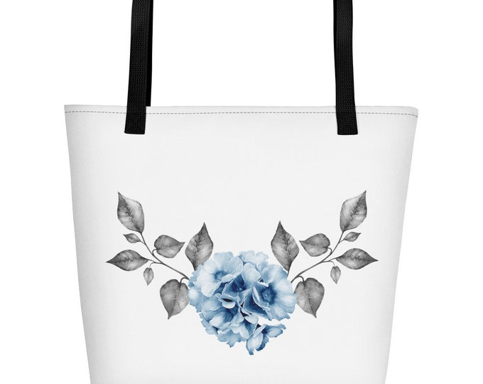 Flower Beach Bag