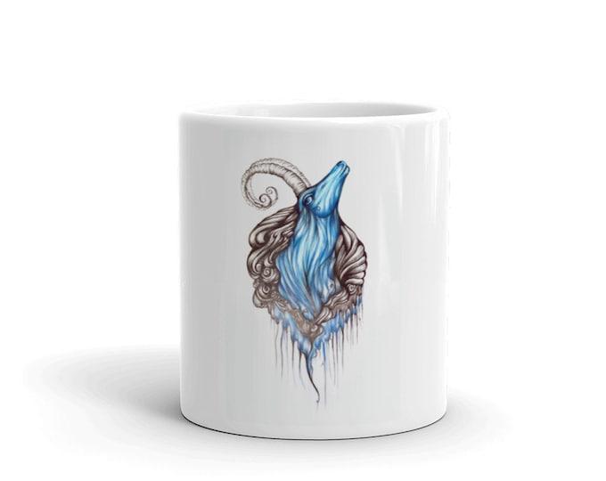Blue Ram Mug