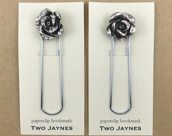 Bookmark - Glam Jumbo Paperclips, FLOWER