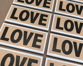 LOVE Tile Magnet