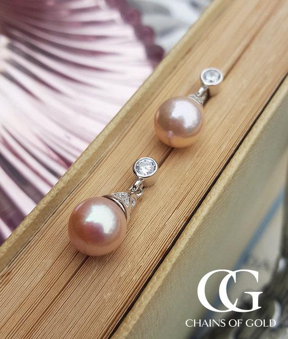 Plata esterlina Madre de Perla Colgante /& Pendientes Damas-forma de diamante Reino Unido