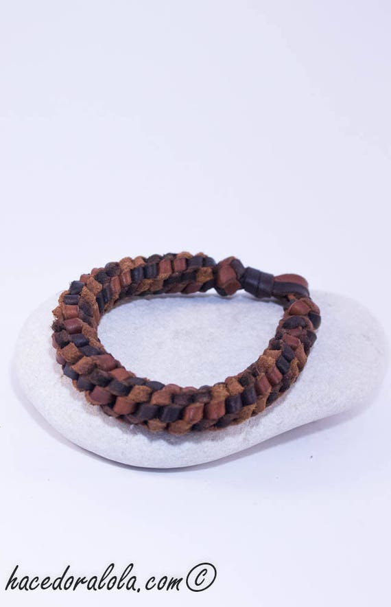 Herren Leder Geflochtenes//Verflechtet Armband