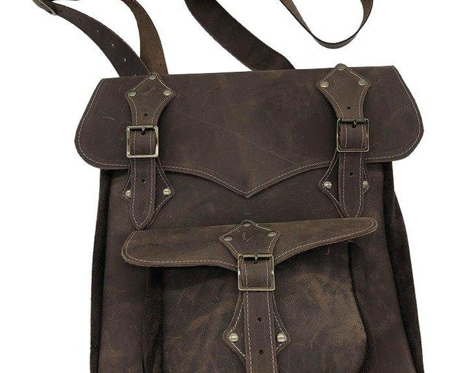 Medieval Deluxe Traveler Purse, Larp, Viking SCA, renaissance