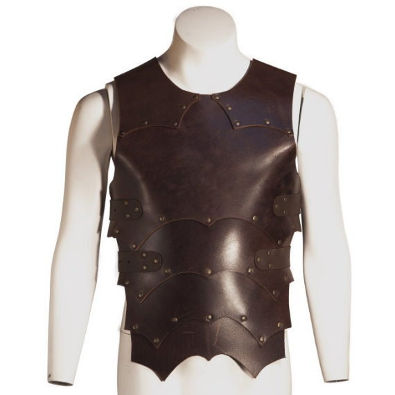 Leather Orc Armor for larping, reenactment, medieval, LARP