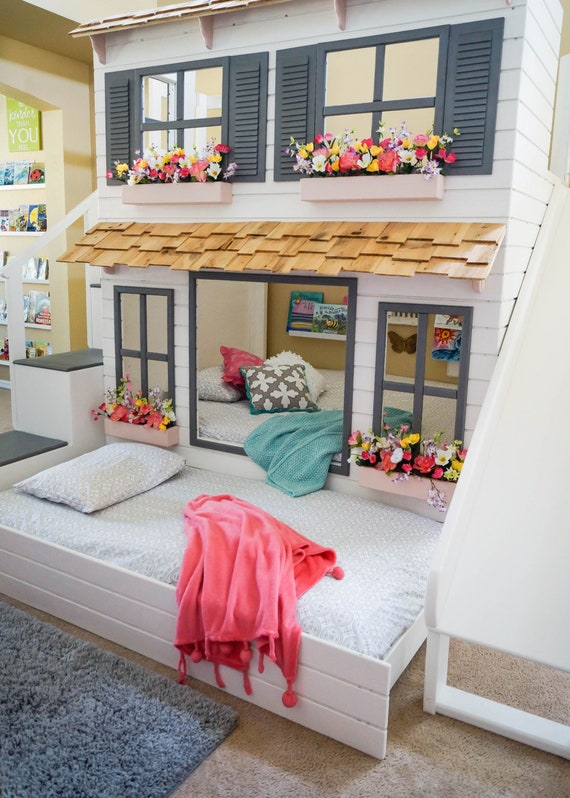 The Layla Bed Offered As A Loft Bed Or Bunk Bed Optional Etsy
