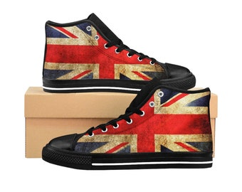da5db9720cde Men s High-top Sneakers Grunge Union Jack