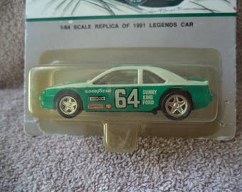 Elmo Langley race car , Hot wheels , Die cast hot wheels car , legends car ,new Hot wheels car , Number 84 race car ,Good year race car
