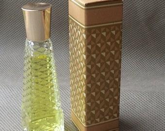 Avon fragrance facettes moonwind cologne avon bottle, avon collectible bottle , perfume avon ,gift for her