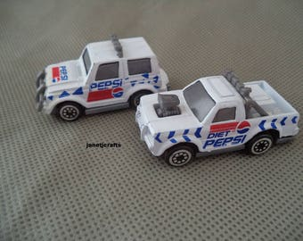 Pepsi toy cars, Set of Pepsi toy cars , Diet Pepsi toy car , Pepsi toy car, Pepsi toy