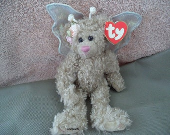 Ty Beanie babies ,Ty Beanie baby  Rafaella the bear ,Stocking stuffer, Gift under 25 ,Angel bear ,Bear with wings