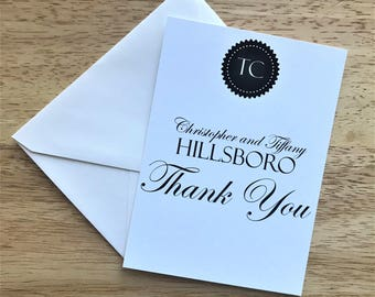 Thank You Cards, BWG Thank You Card