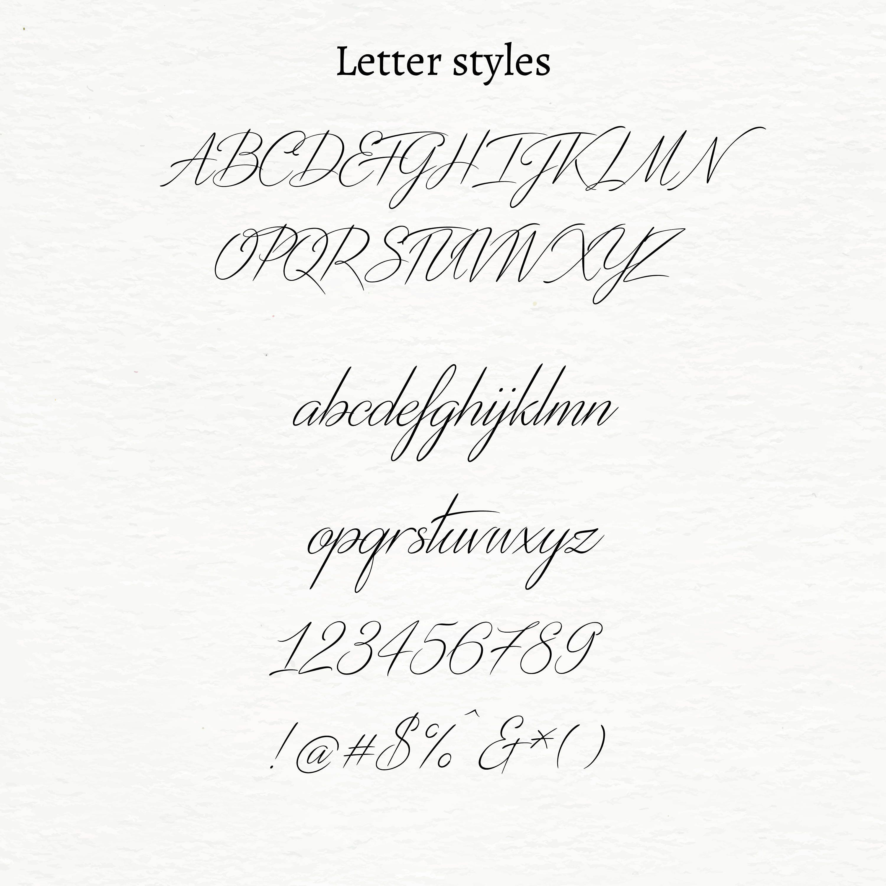Modern brush font - commercial use - calligraphy, modern typeface ...