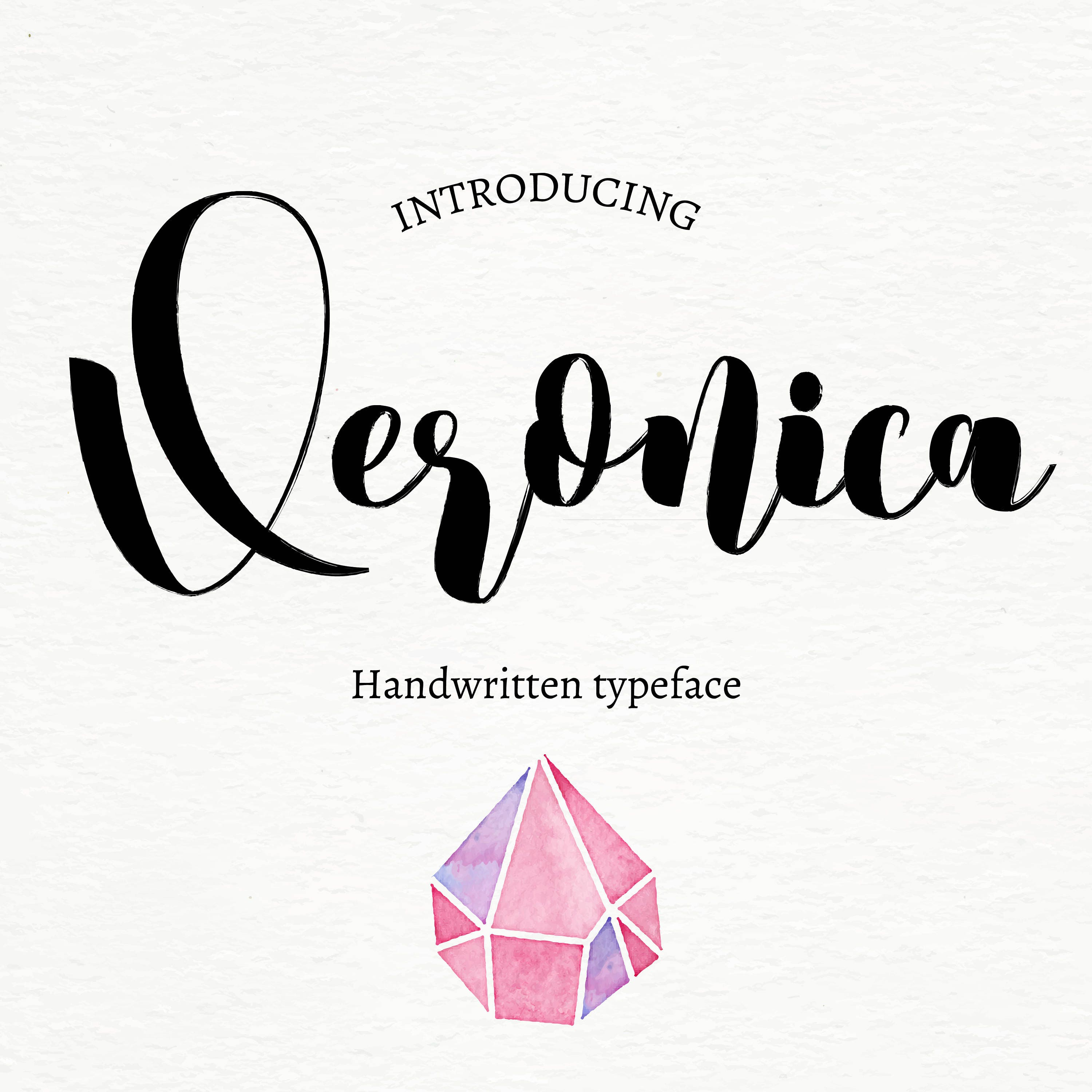 Calligraphy font - commercial use - calligraphy, modern typeface ...