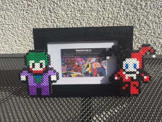 Items Op Etsy Die Op Joker Harley Quinn Hama Bugelperlen