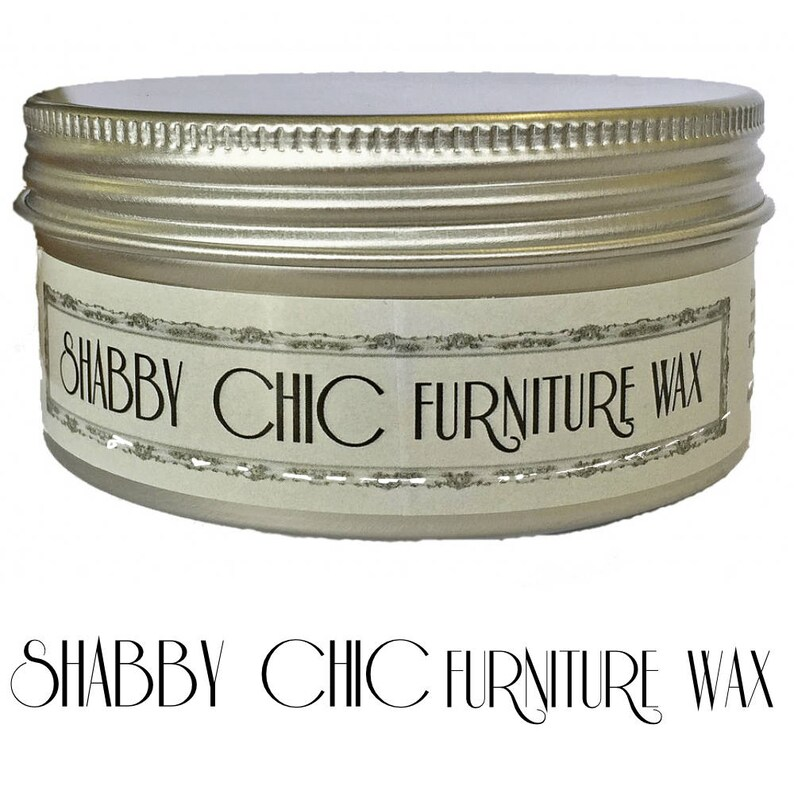 Shabby Chic Furniture Wax For Chalk Paint Clear 250ml Semi Etsy