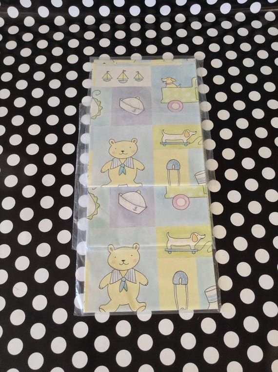 Everything Boybaby Boy Gift Wrapboy Baby Shower Wrapping Etsy