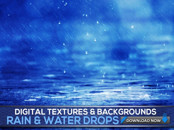 60 water rain textures and backgrounds water photoshop etsy