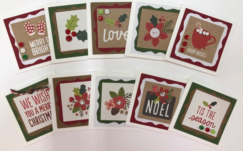 handmade cards blank card kit premade christmas cards