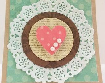 Handmade Cards, Blank Card kit, Premade Mini Cards, Pre-made Blank Cards, Mini Card Kit, Card Kits, Wedding, Sympathy Card, Get Well Cards