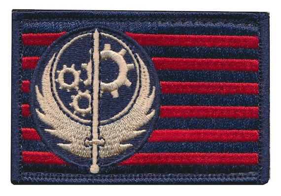 """/""""BOS/"""" Fallout Brotherhood of Steel 3D PVC Patch"""