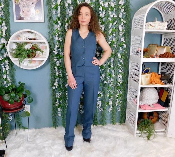 60's 70's Bobbie Brooks Polyester Pant Suit / Vint