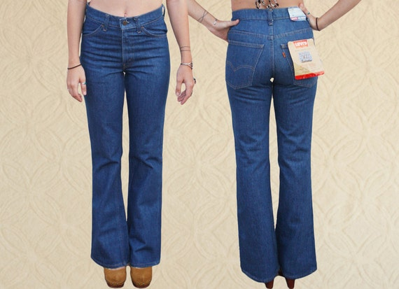 70's Levi's Orange Tab Bell Bottoms, Boho Bell Bot
