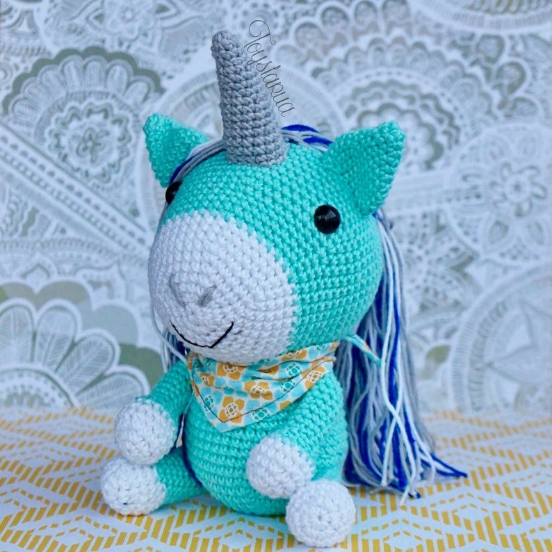 Unicorn Amigurumi crochet - YouTube | 794x794