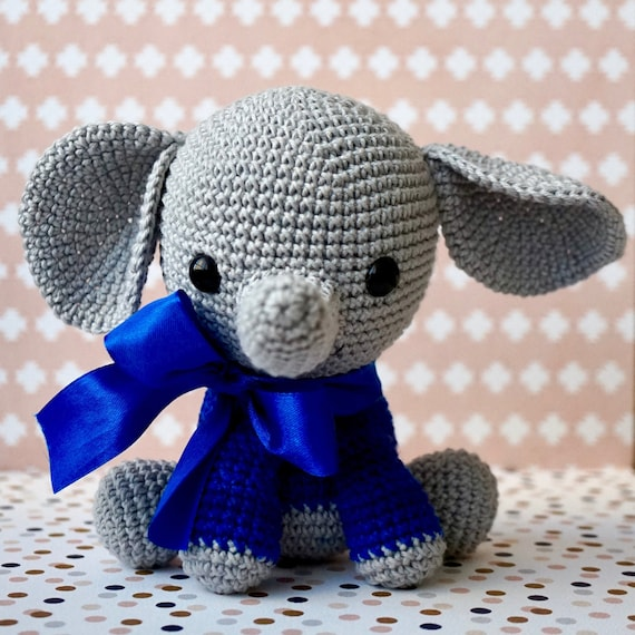 Ayla's Crafts : Sonajero Elefante Amigurumi You can create a ... | 570x570