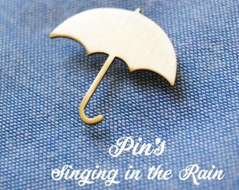 """""""Badges"""" Singing in the rain """""""