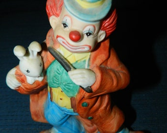 Clown figurines | Etsy