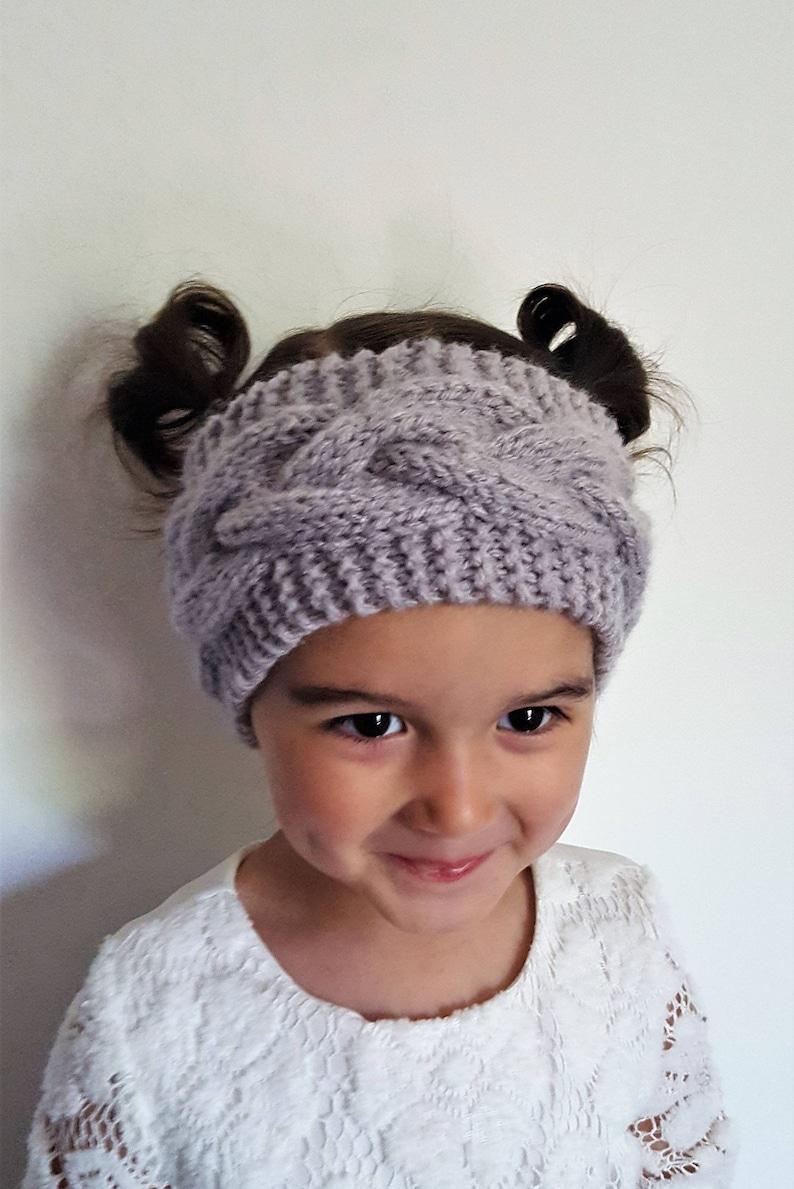 Bohemian Ear Warmer Knit PATTERN Adult Boho Headband Baby ...