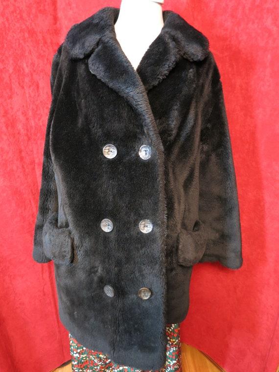 Vintage d Jimas Furs Beauvana Donnybrook Black coa