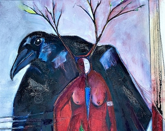 Old Friends and So Many Secrets Fine art Giclee, Archival Quality limited edition, signed print