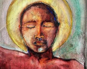 The Healing Process Fine Art Giclée, Art Print, Wall Art, Frameable Art, Healing Art, Unique Painting, Figure Drawing