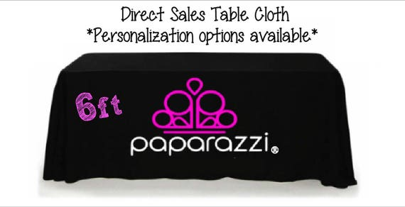 Complete 6ft Paparazzi Event Table Cloth Etsy