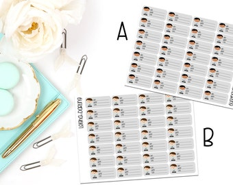 Male Doctor Appointment Planner Stickers