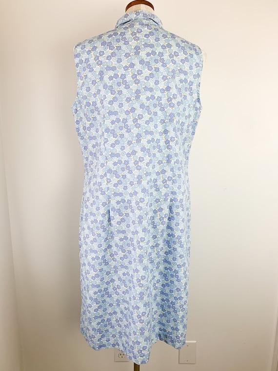 Vintage Laura Ashley Dress    90s Floral Cotton D… - image 5