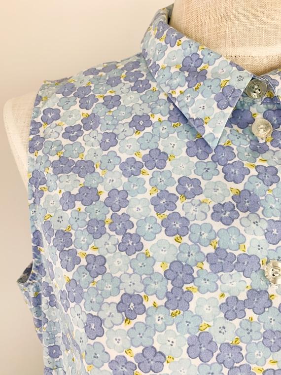 Vintage Laura Ashley Dress    90s Floral Cotton D… - image 3