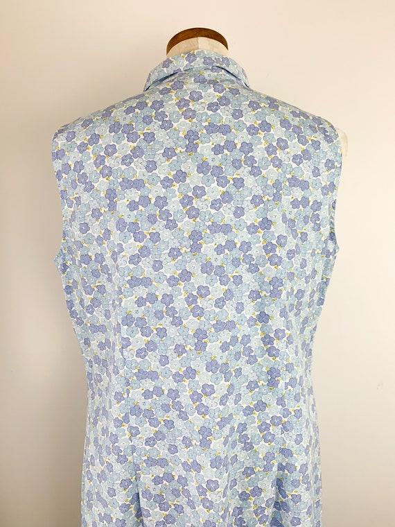 Vintage Laura Ashley Dress    90s Floral Cotton D… - image 4