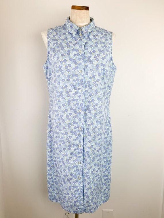 Vintage Laura Ashley Dress    90s Floral Cotton D… - image 2