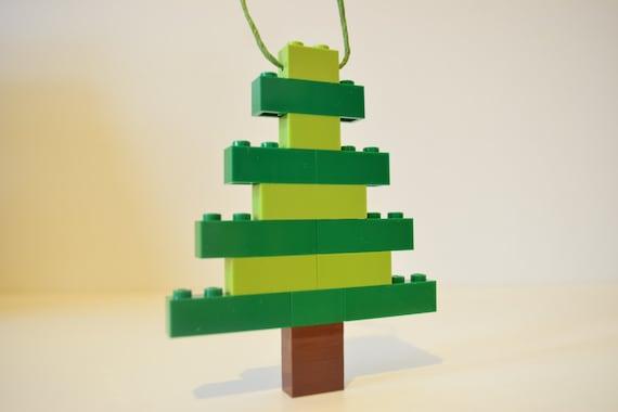 Items Similar To Lego Christmas Tree Ornament