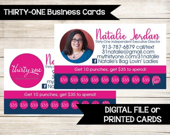 31 business card Etsy