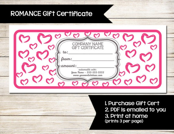 Pure Romance Gift Certificate Coupon Discount Card Etsy