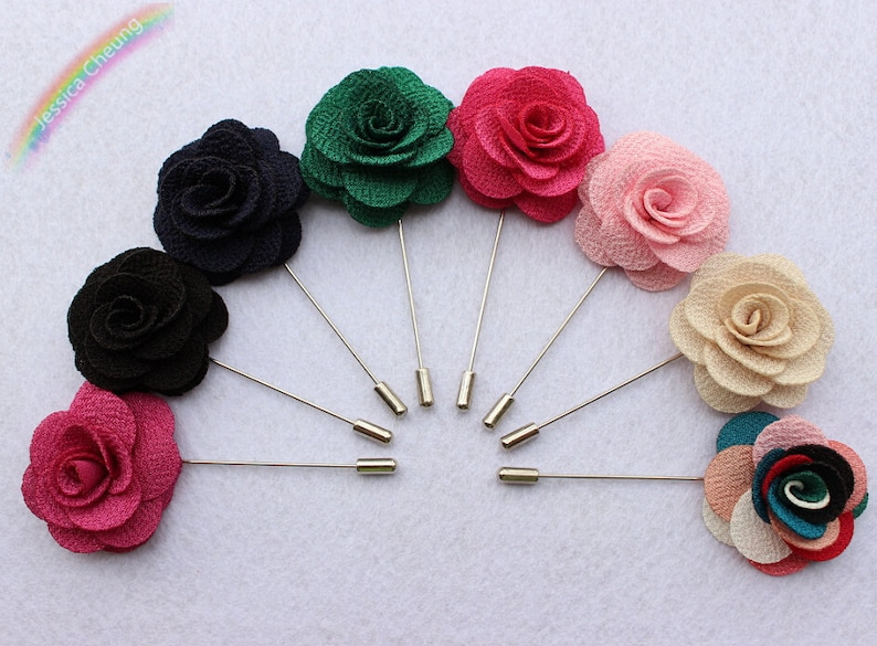 Flower or Button 45mm Rosette Long Quilters pins Butterfly 40 Craft Pins