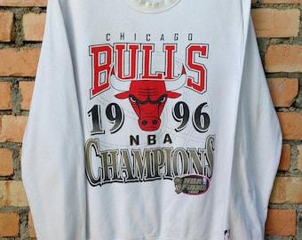 Sweatshirt chicago bull | Etsy