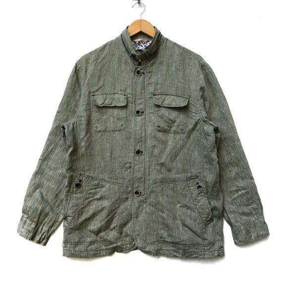 Vintage Alain Delon Chambray Shirt