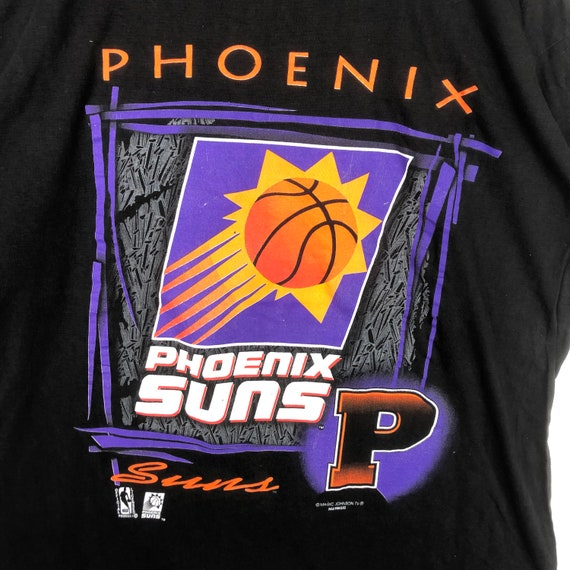 Vintage 90s Phoenix Suns NBA Magic Johnson Tee - image 2
