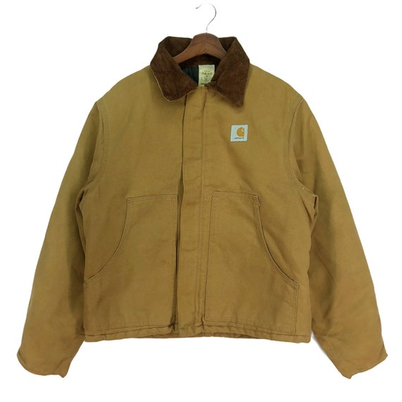 Vintage Carhartt Denim Workers Bomber Jacket