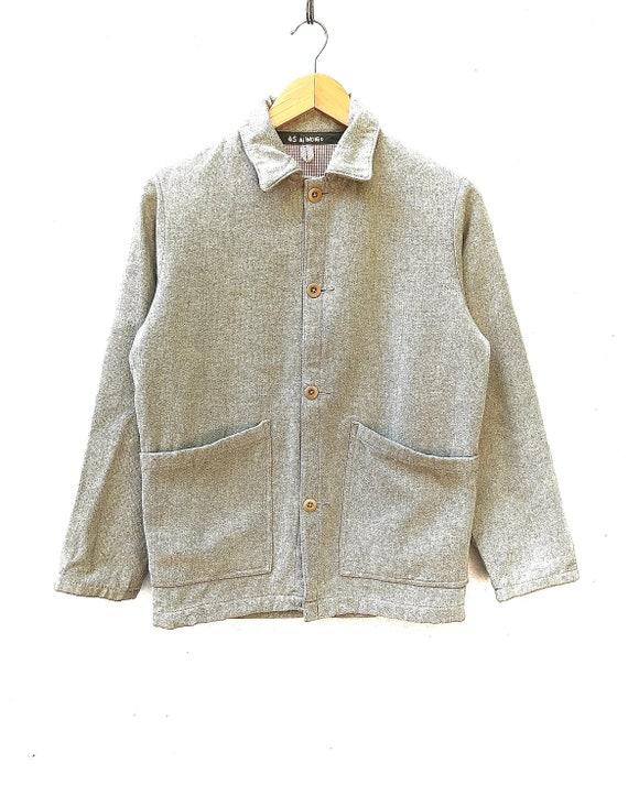45rpm Indigo Denim Chore WorkWear Jacket